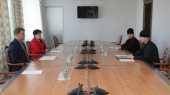 Патриарший экзарх всея Беларуси и председатель Мингорисполкома обсудили вопросы соблюдения санитарно-эпидемического режима в храмах Минска