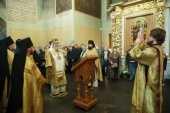 В Донском ставропигиальном монастыре молитвенно почтили память святителя Тихона, патриарха Московского и всея России