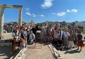 В день памяти апостола и евангелиста Иоанна Богослова на месте его погребения близ Эфеса в Турции была совершена Божественная литургия