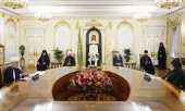 Состоялась трехсторонняя встреча духовных лидеров России, Азербайджана и Армении
