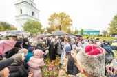 Блаженнейший митрополит Онуфрий возглавил церковные торжества в Конотопе