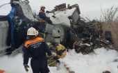 Предстоятель Русской Церкви выразил соболезнования в связи с гибелью людей в результате крушения самолета в Татарстане