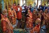 Управляющий делами Московской Патриархии возглавил торжества на подворье Православной Церкви Чешских земель и Словакии в Москве по случаю 1100-летия преставления мц. Людмилы Чешской