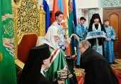 Святейший Патриарх Кирилл возглавил чин наречения архимандрита Герасима (Шевцова) во епископа Владикавказского и Аланского